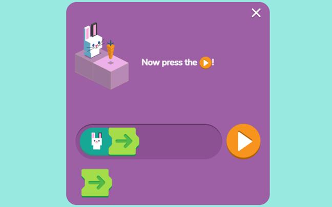 rabbit coding game