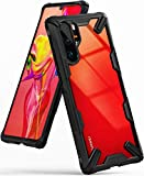 Image of Ringke Fusion-X Compatible with Huawei P30 Pro New Edition Case Cover with Military Drop Protective TPU Shockproof Bumper and Clear Hard Back Panel Case for P30 Pro New Edition - Black