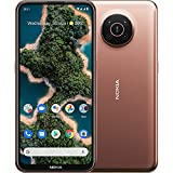 """Image of Nokia X20 5G smartphone, dual SIM, RAM 6GB, ROM 128GB, 64MP quad camera, watermark capability, 6.67"""" Full HD+ display, durable design, 2 days battery life and Pure Android 11 - Midnight Sun"""