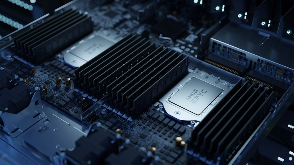 AMD's EPYC CPUs are now being used to manufacturer chips at TSMC.