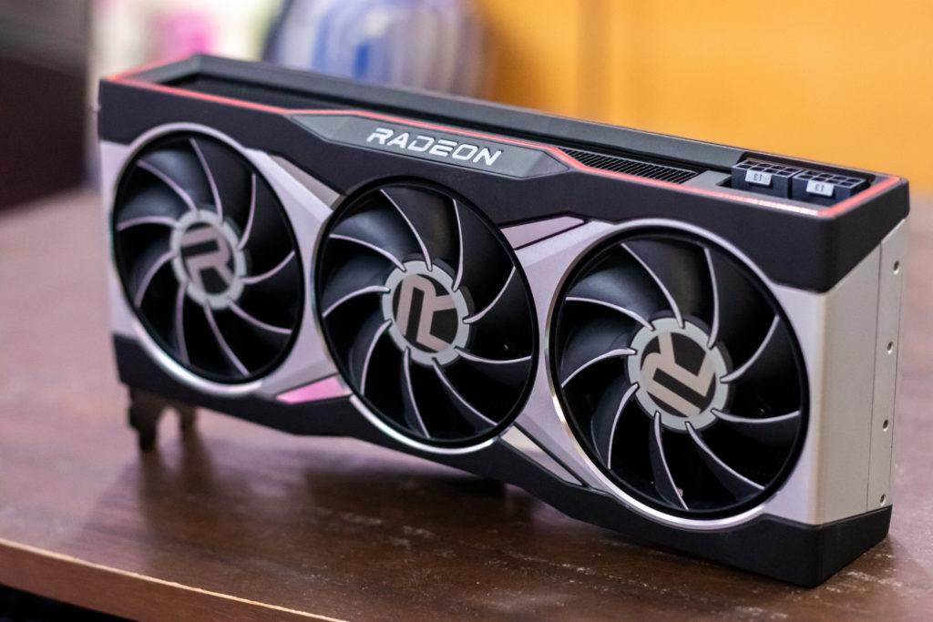 AMD Radeon RX 6800 XT Front 2