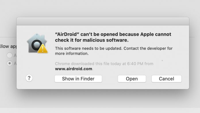 Can't Open AirDroid on Mac? Here's How to Unblock AirDroid to Run on macOS
