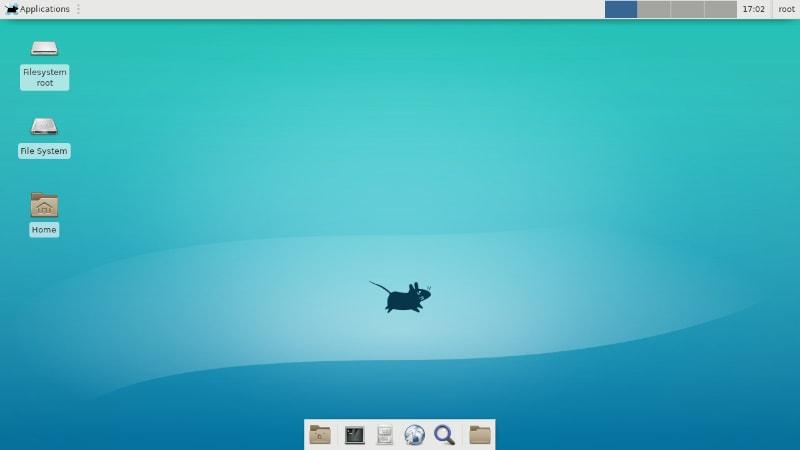 Hyperbola Linux With Xfce desktop
