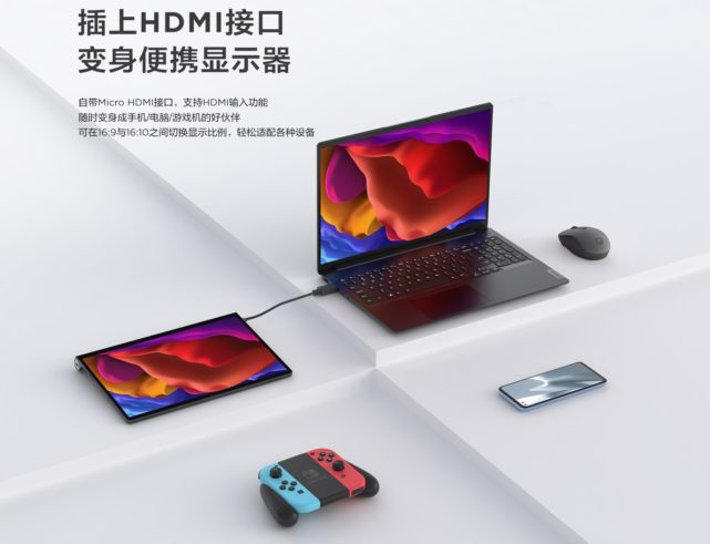 Lenovo Yoga PAd Pro as an external monitor
