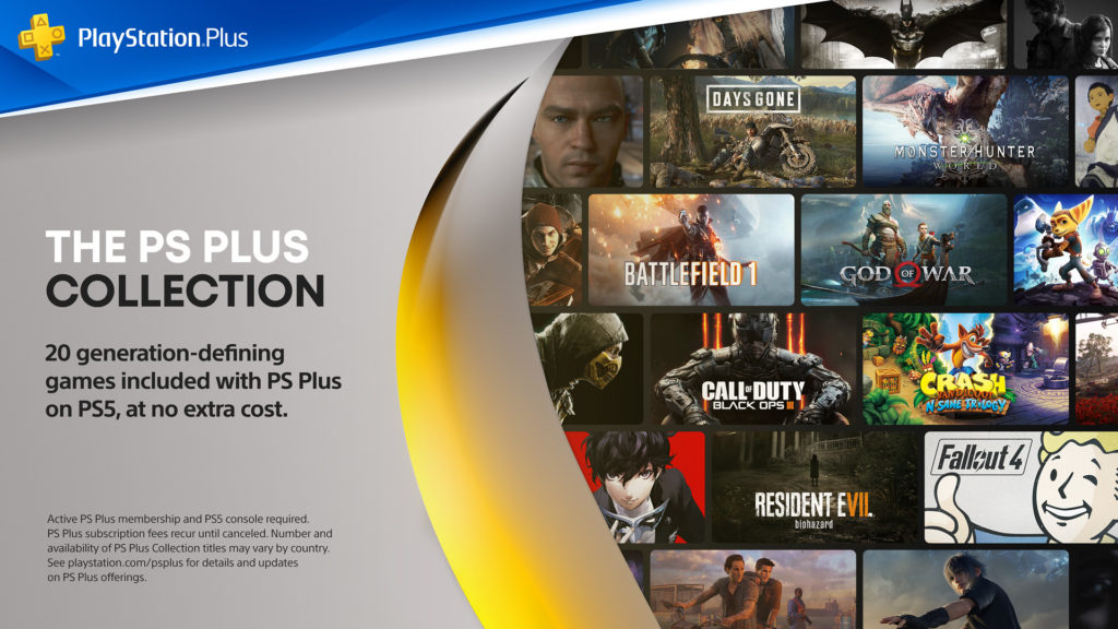 PlayStation Plus Collection on PS5