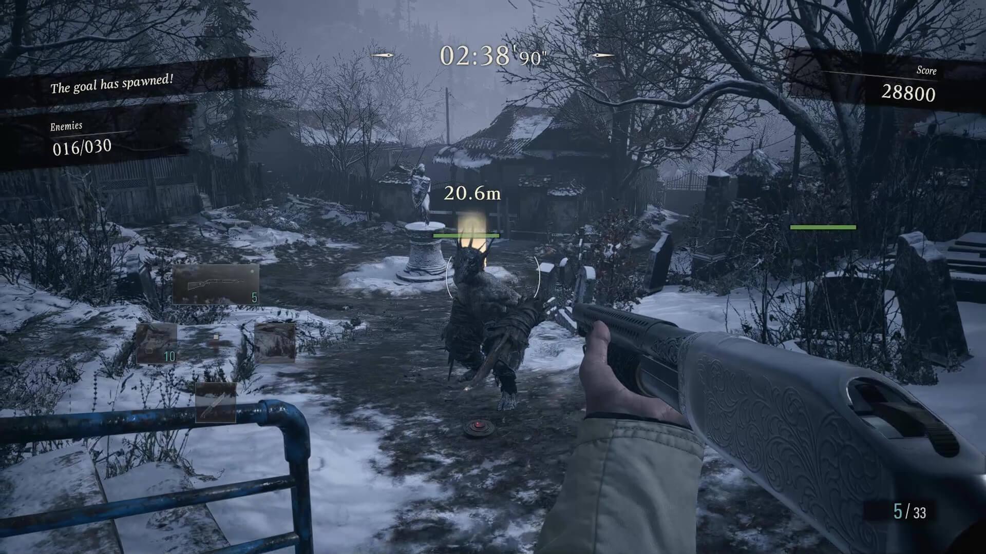 Resident Evil Village Mercenaries Enemy
