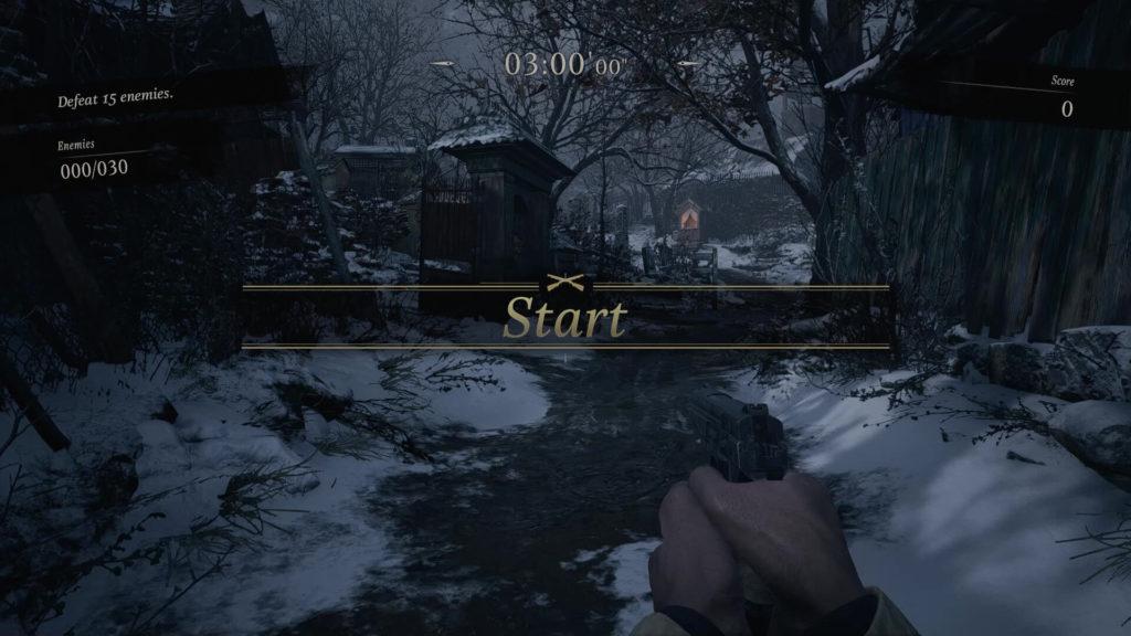 Resident Evil Village Mercenaries Round Start
