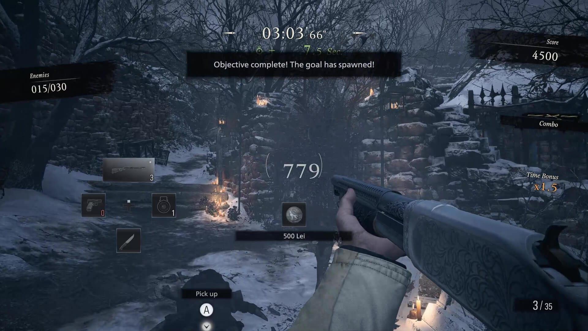 Resident Evil Village Mercenaries Score