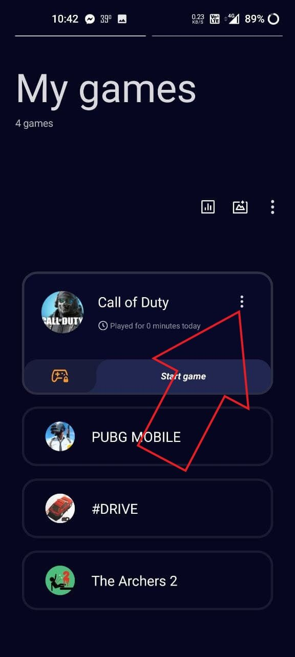 Fully Disable Gaming Mode on OnePlus Phones