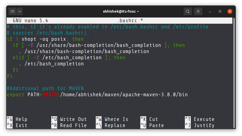 add-directory-to-path-linux