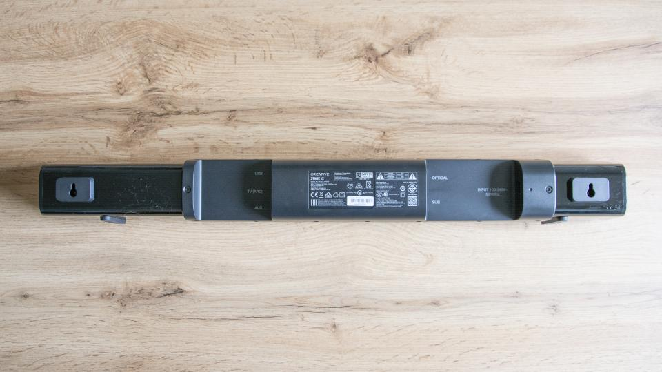 Creative Stage V2 review - soundbar connection ports