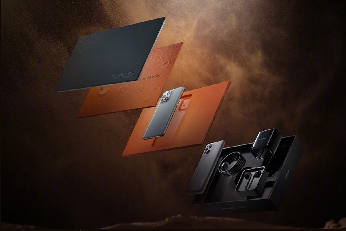 Oppo Find X3 Pro Mars Exploration Edition retail packaging