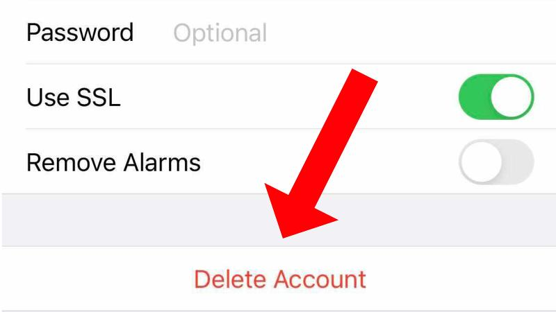 How to remove calendar spam on iPhone: Delete Subscription