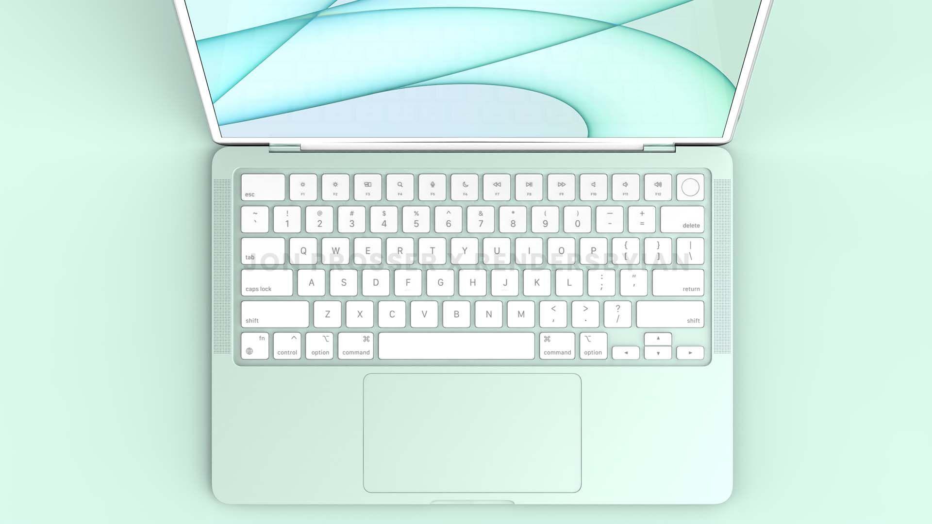 New MacBook Air blue
