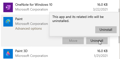 reinstall paint in Windows 10 pic2
