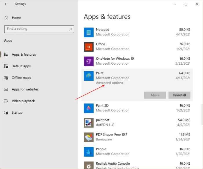 reinstall paint in Windows 10 pic3