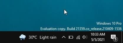 remove weather information from taskbar in Windows 10 pic1