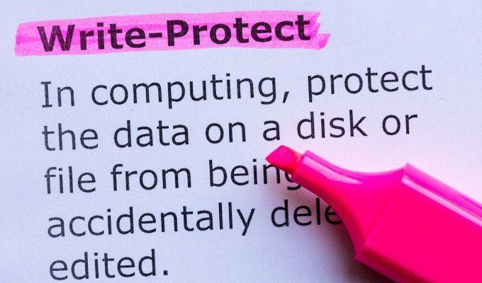 write-protected.optimal