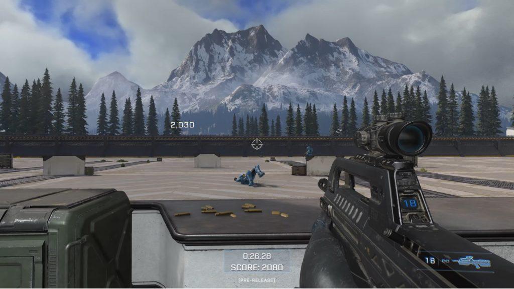 Academy training in Halo Infinite Multiplayer