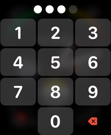 Apple Watch unlock with passcode