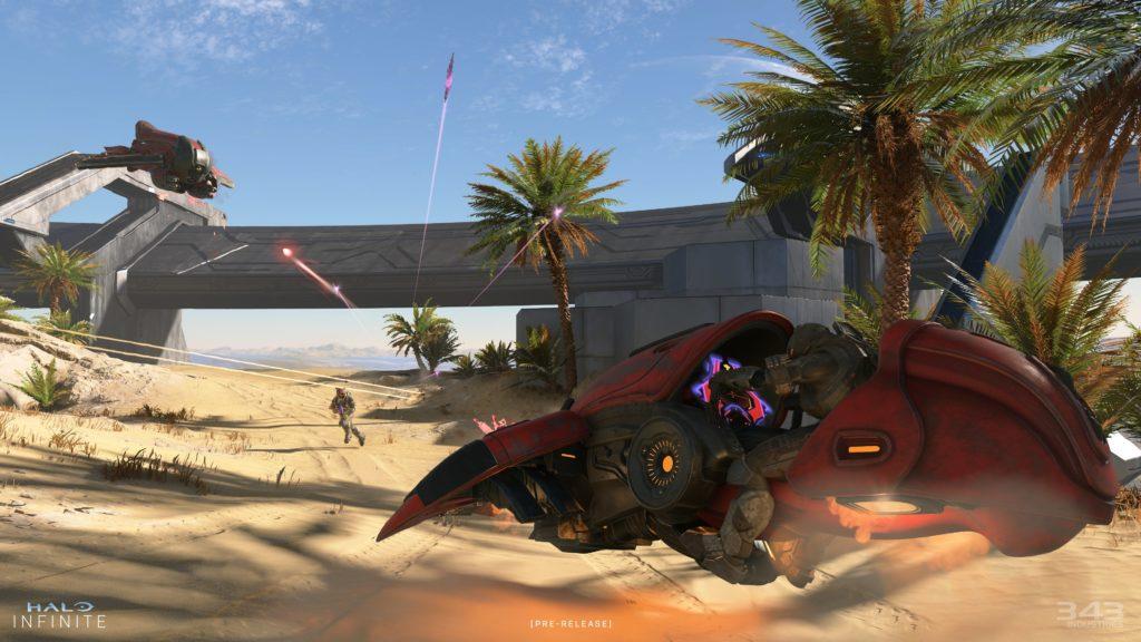 Halo Infinite Multiplayer - Vehicle Combat Screenshot
