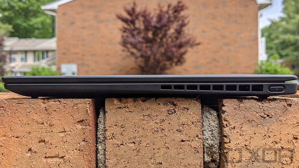 Lenovo ThinkPad X1 Nano side view