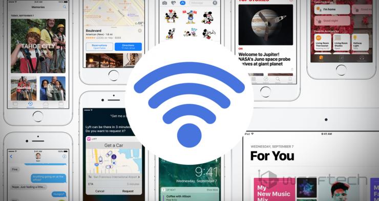 iPhone iOS WiFi Bug