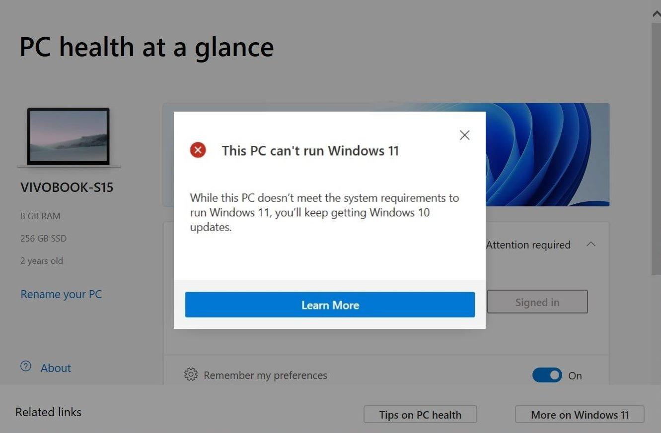 Ahora puedes verificar si tu PC está listo para Windows 11