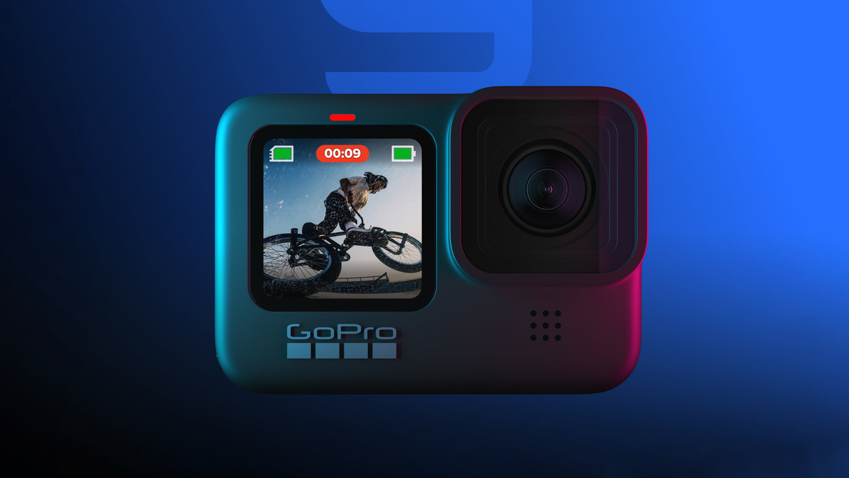 A photo of the GoPro Hero9