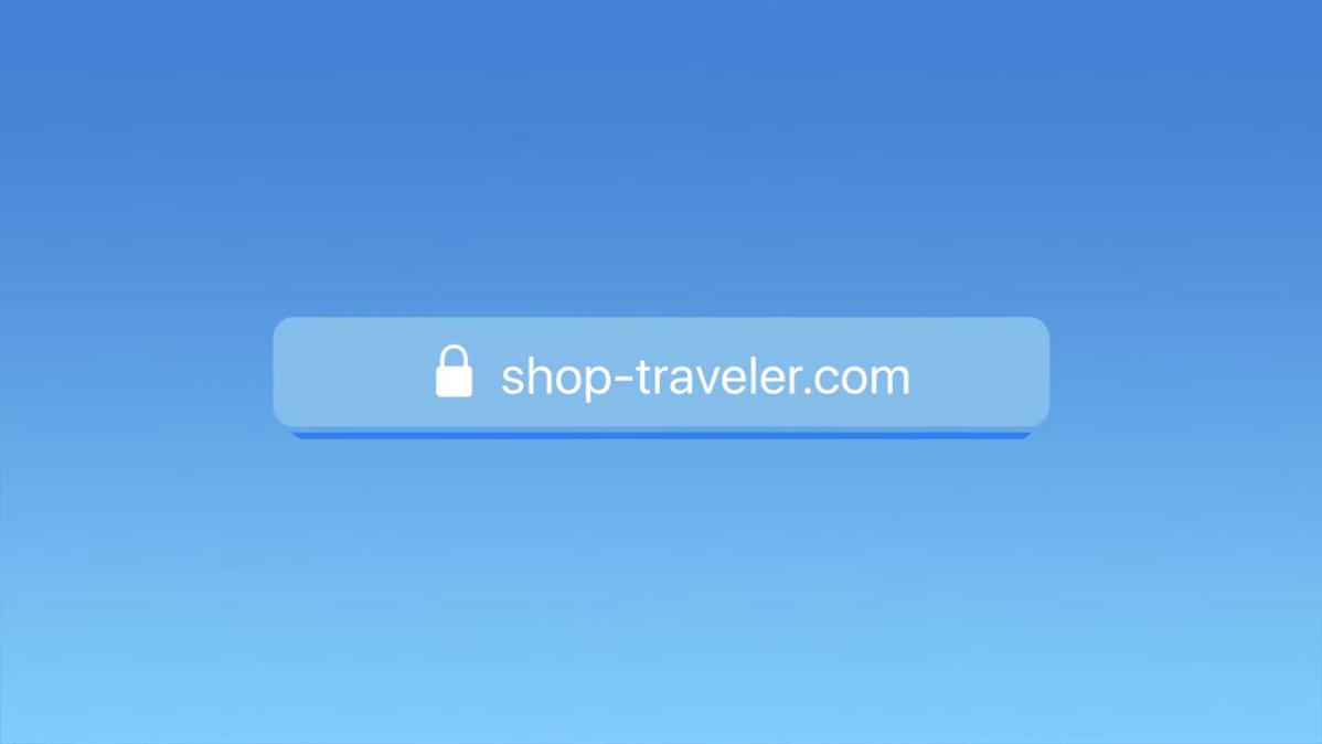A browser address bar loading a website, as seen in Apple's WWDC 2021 keynote.