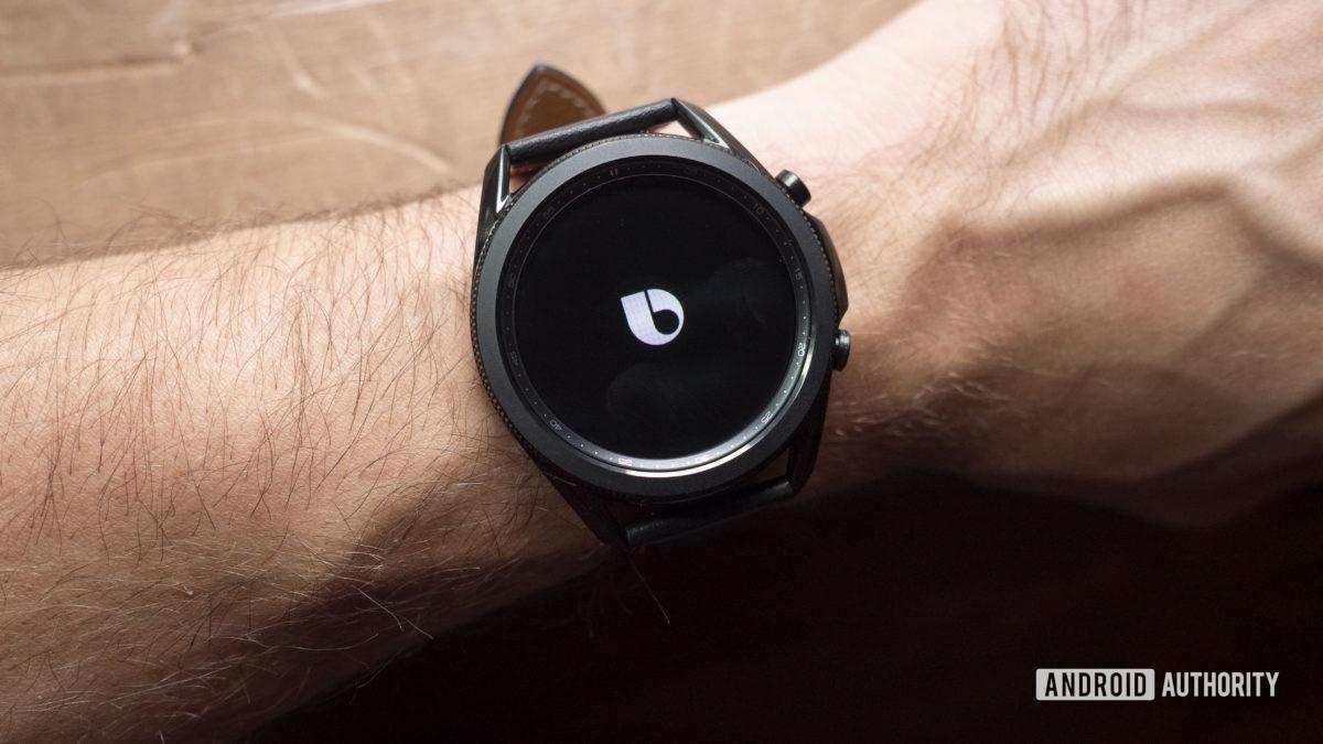 samsung galaxy watch 3 review bixby logo