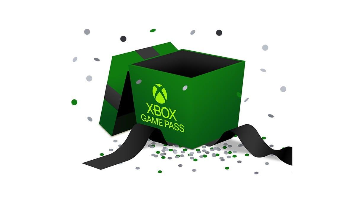 Xbox Game Pass perks graphic.