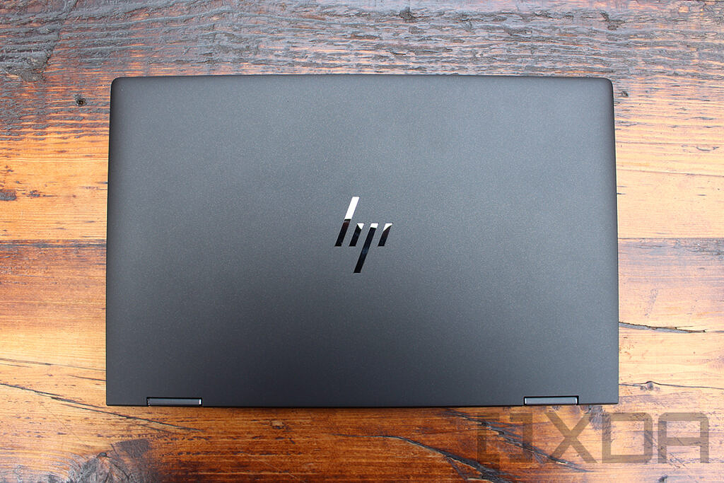 Top down view of HP Elite Dragonfly Max