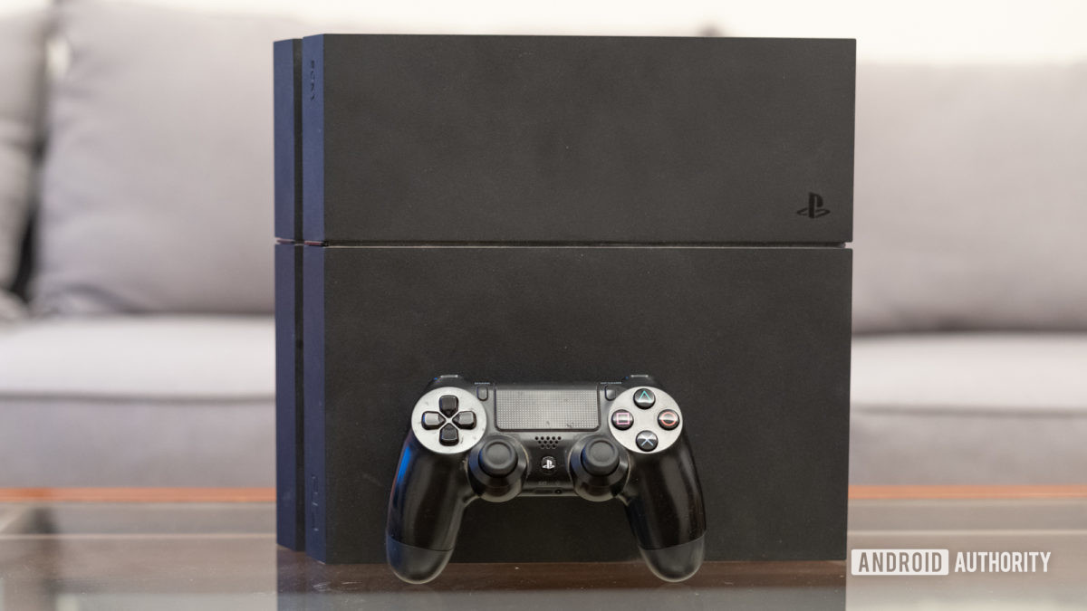 PlayStation 4 front shot
