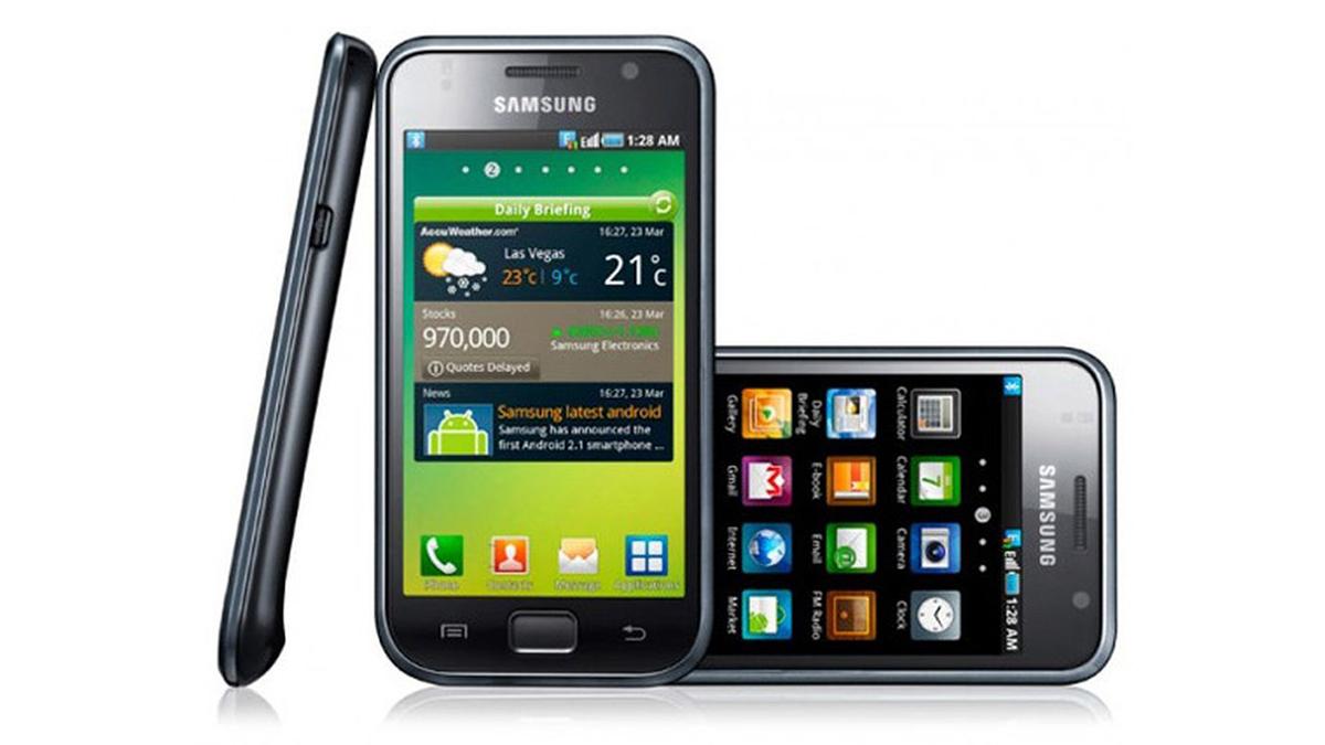 The Samsung Galaxy S Original - the start of Samsung Exynos history.