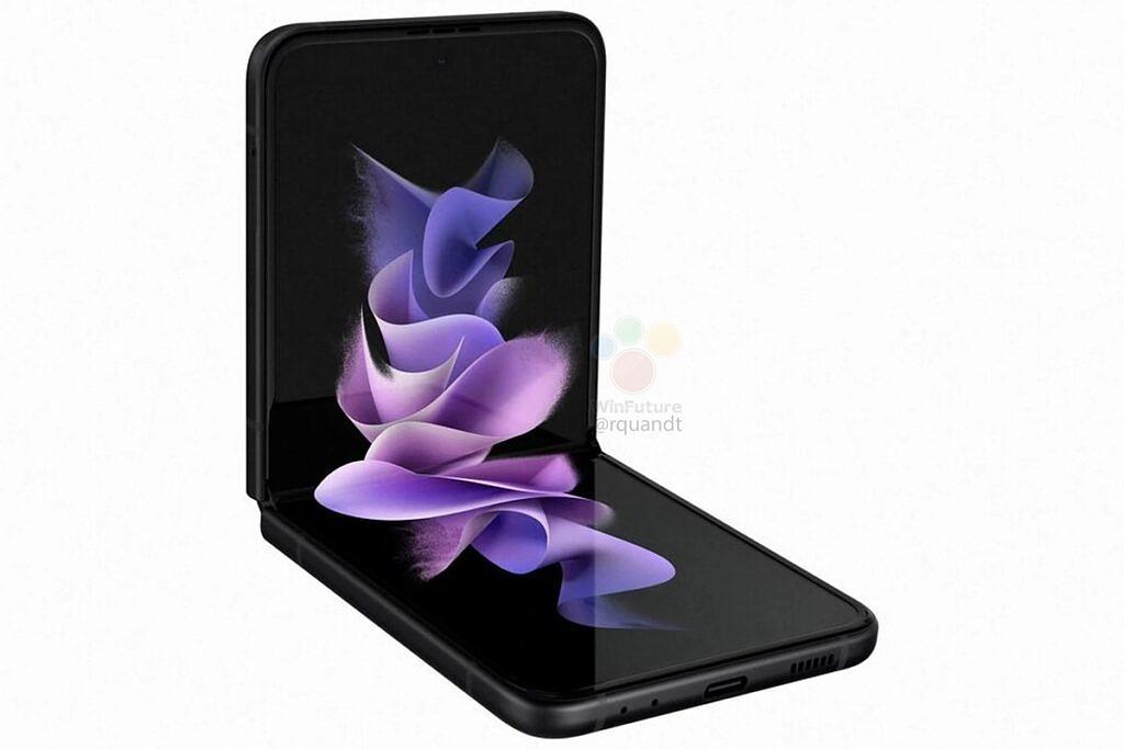 Samsung Galaxy Z Flip 3 opened up