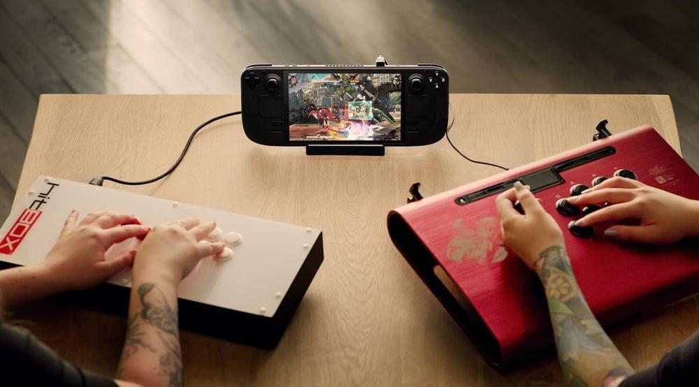 Steam Deck Multiplayer Steam Handheld