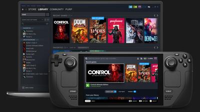Valve's handheald gaming system, the Steam Deck