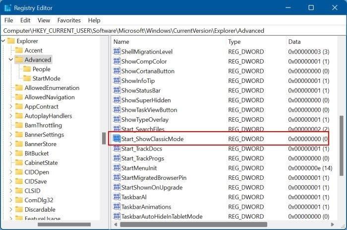 get Windows 10 style Start menu in Windows 11 pic4