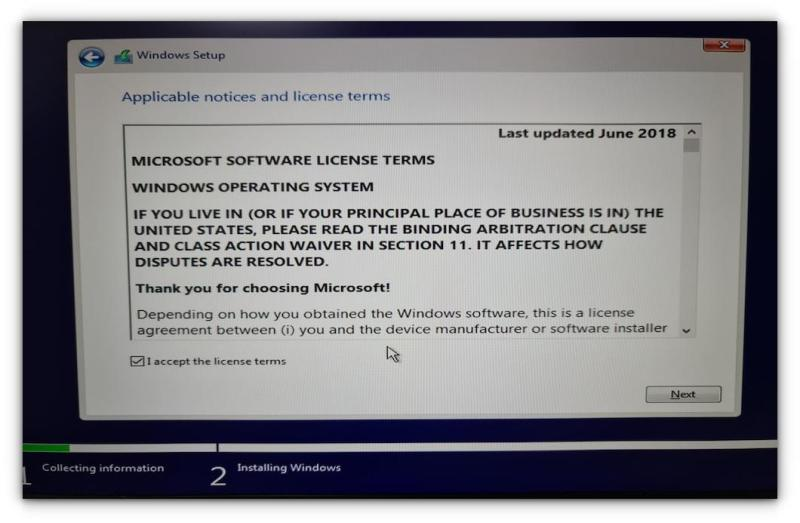 installing windows 5
