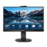 Image of Philips Monitors 243B9H - 24 inch FHD Monitor, 75Hz, 4ms, IPS, USB-C Docking, Webcam, Speakers, Height Adjust (1920 x 1080, 250 cd/m², USB-C/HDMI/VGA/DP 1.2)
