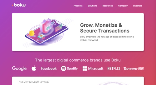 Home page of Boku