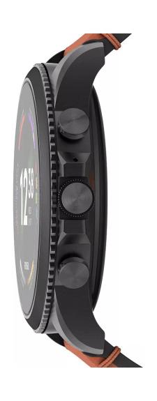 Side of the Fossil Gen 6 smartwatch for men