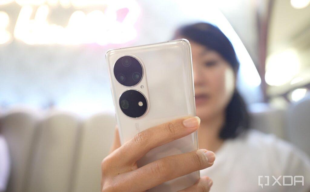 Huawei P50 Pro in white