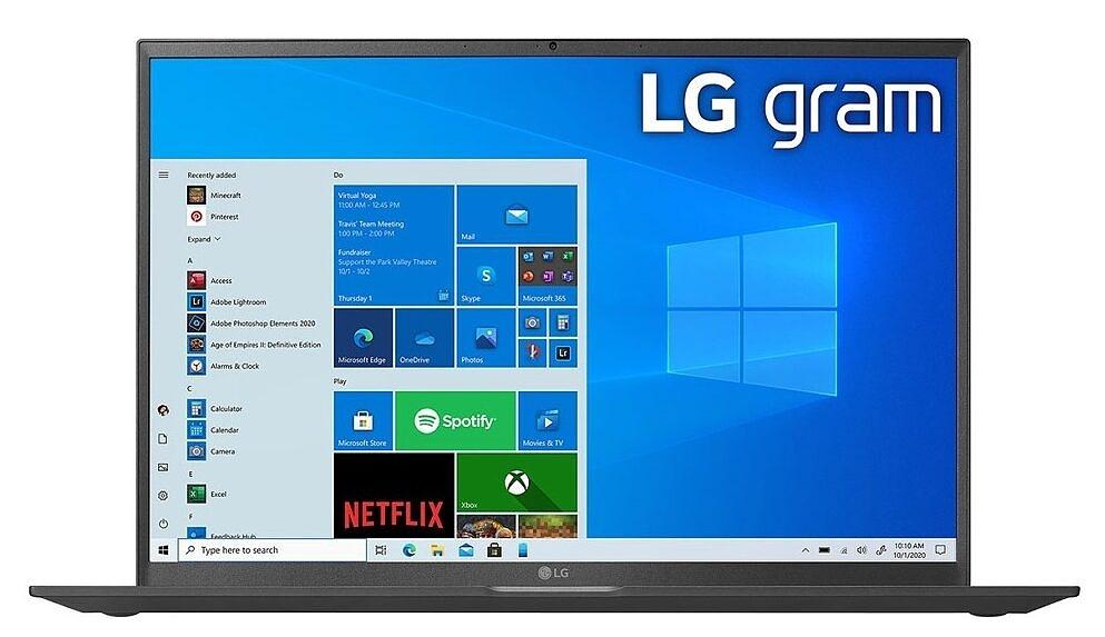 LG gram 17 display