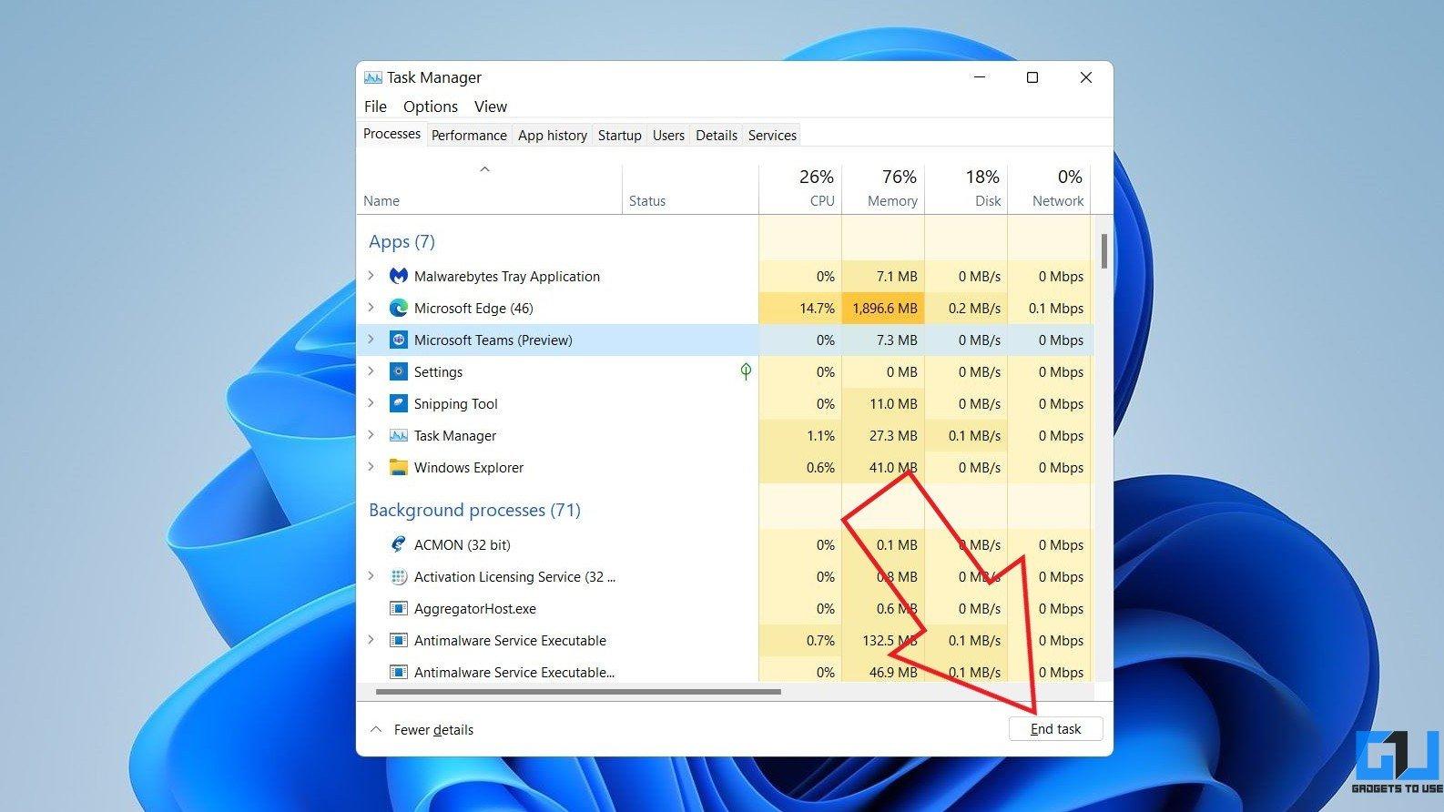 Microsoft Teams Blank White Screen on Windows PC