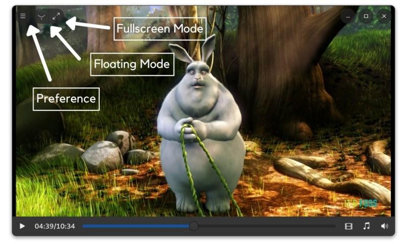 Clapper video interface