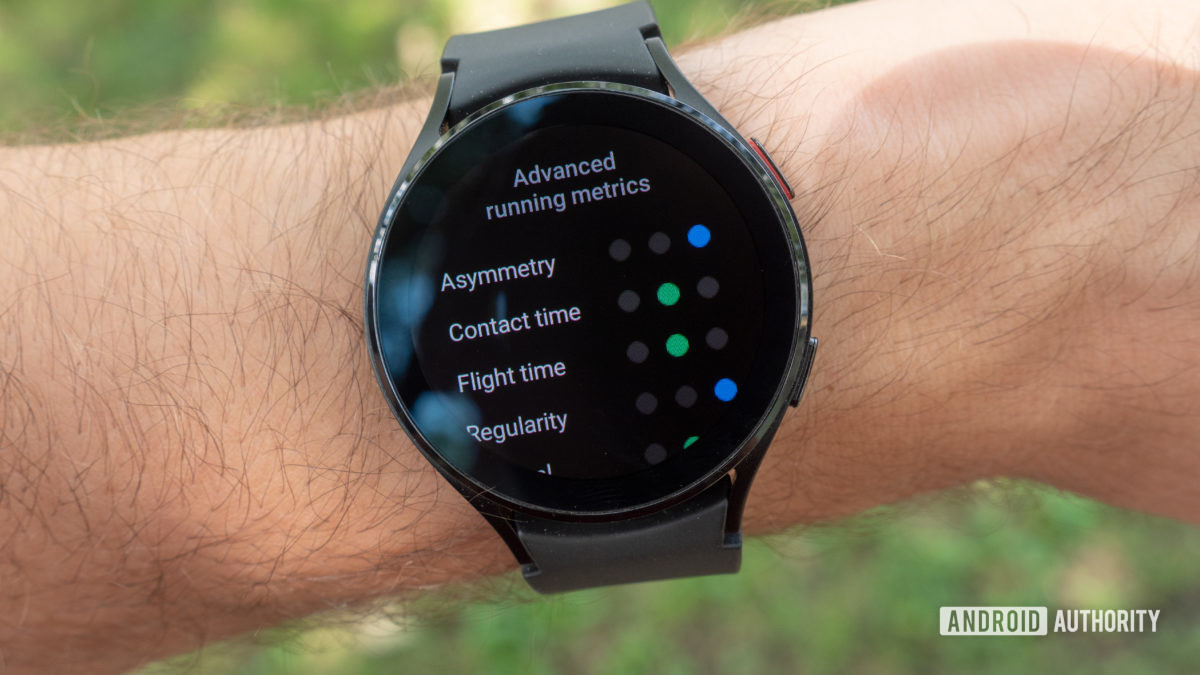 samsung galaxy watch 4 review advanced running metrics