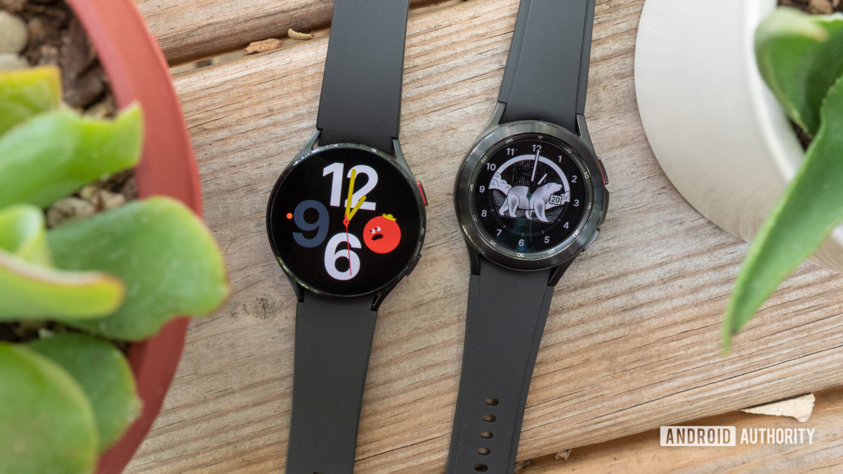 samsung galaxy watch 4 review galaxy watch 4 classic on table