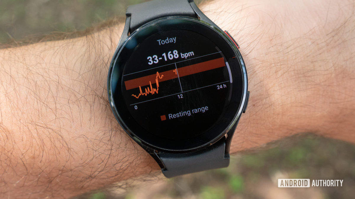 samsung galaxy watch 4 review heart rate readings on wrist